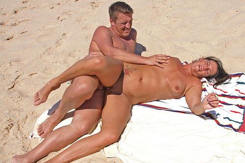 image Portugese couple having sexy fun