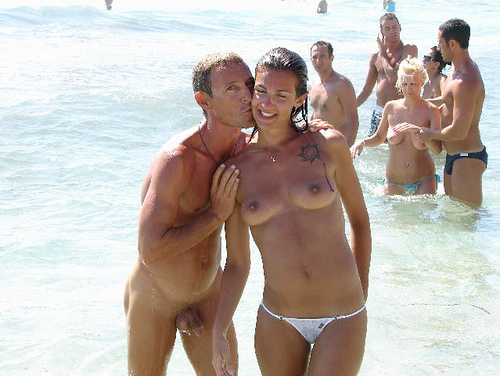 4010668699 9d6e85cca6 Ibiza Beach Naked Men Topless Women