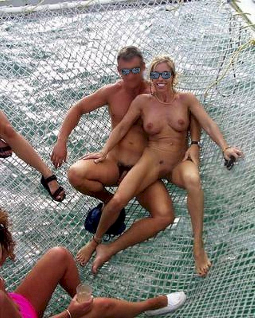 3 nude swinger couples at