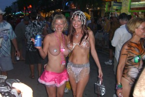 Fantasy Fest Topless