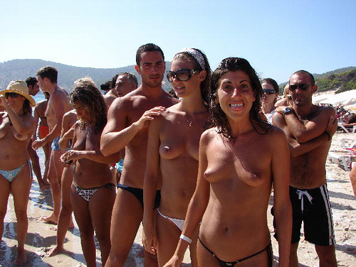Ibiza Topless Beach