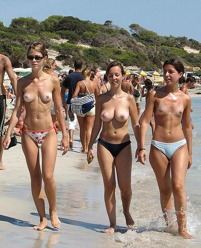 First time nudist beach