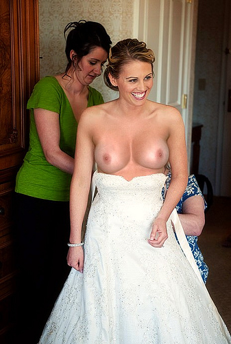 bride-topless