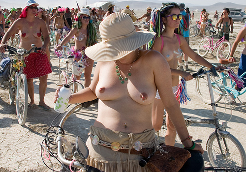 3942039474 c64c94cfce Burning Man Topless Women