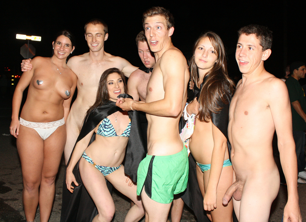 Topless Female Naked Male Orgy