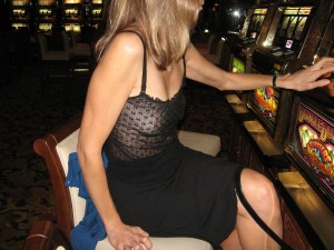 Sheer Blouse Casino