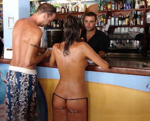 beach bar topless ibiza
