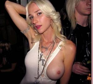 bare boob clubwear topless