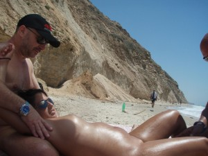 nude beach sex