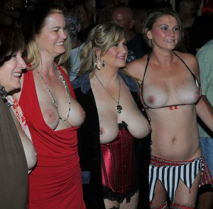 Topless Wives Fantasy Fest