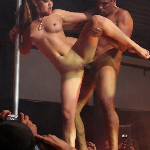 West end theater sex on stage