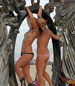 Burning Man The Wings Topless