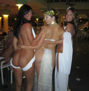 Hedonism Toga Party Bare Ass Wives