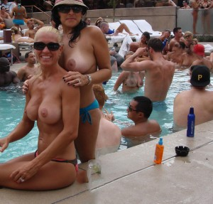 Mirage Bare Pool Topless 3