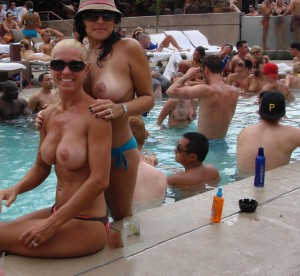 Mirage Bare Pool Topless 5
