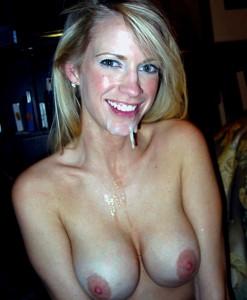 hotwife topless semen