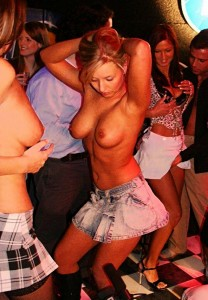 Topless Swingers Party