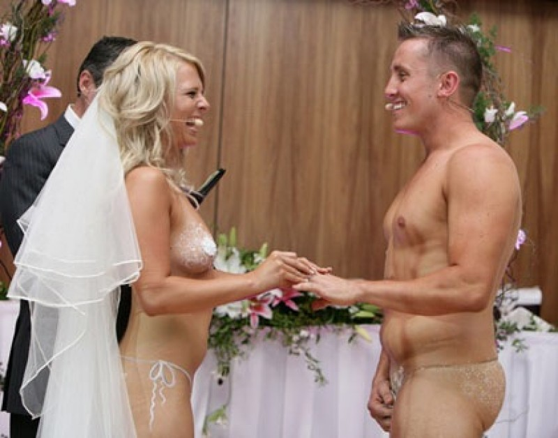 Swinger wedding pics