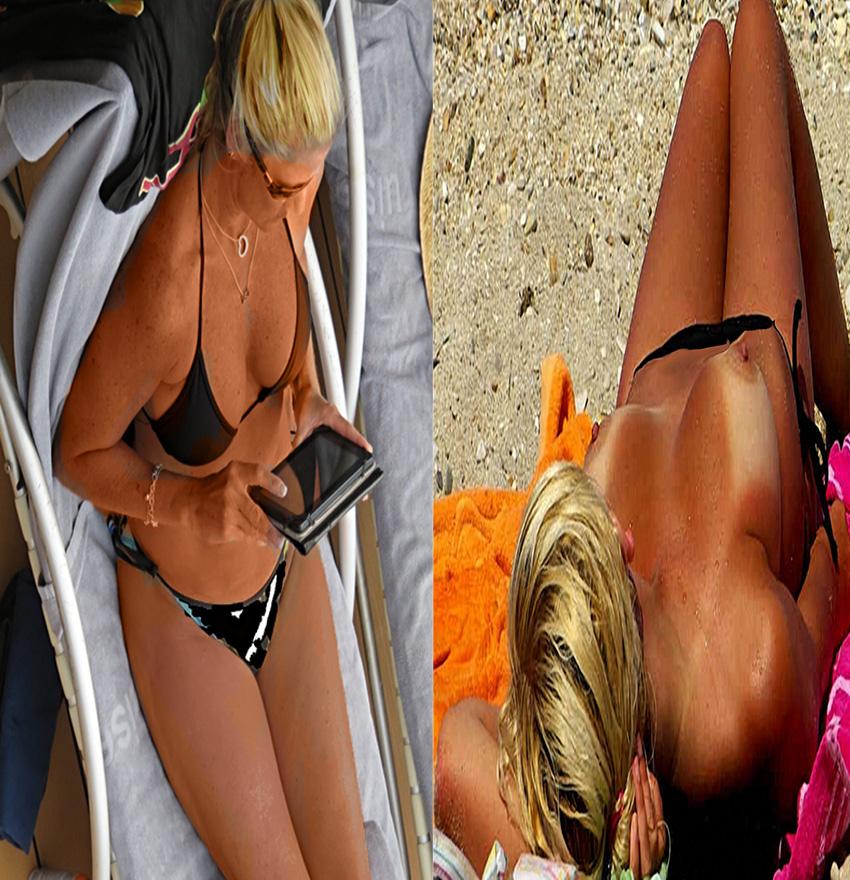 Bikini & Topless Blonde 10