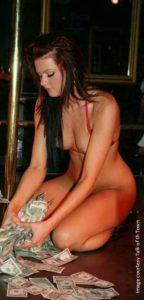 Swinger Wife Dances Naked for Cash