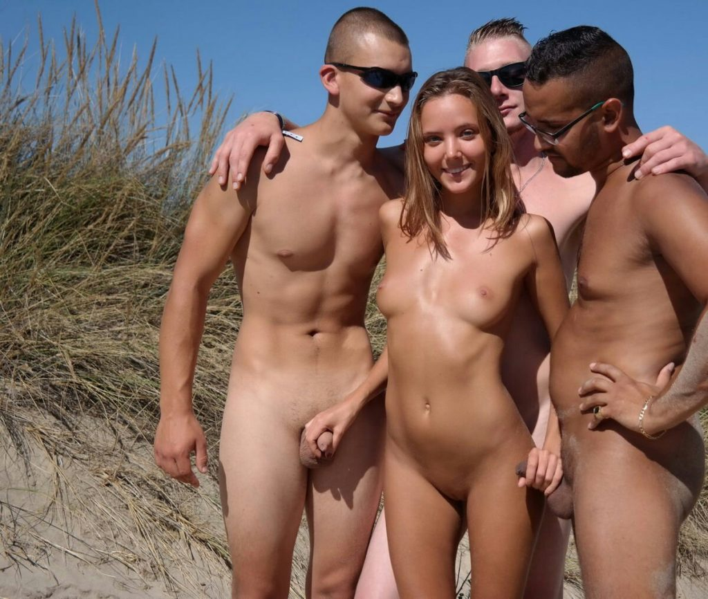 Erect Penis Nude Blond