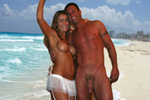 Nude Couple Beach
